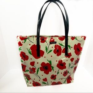 KATE SPADE Poppy Daycation Bon Travel Tote Bag